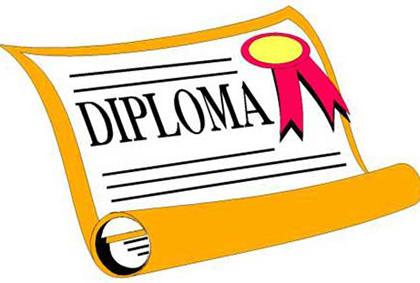 diploma per lavoro