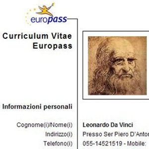 Differenza tra curriculum europeo e Resume