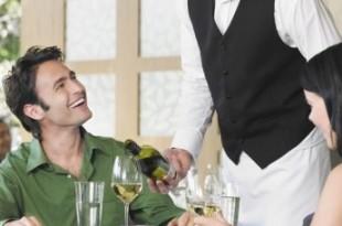 aspetto esteriore cameriere di sala